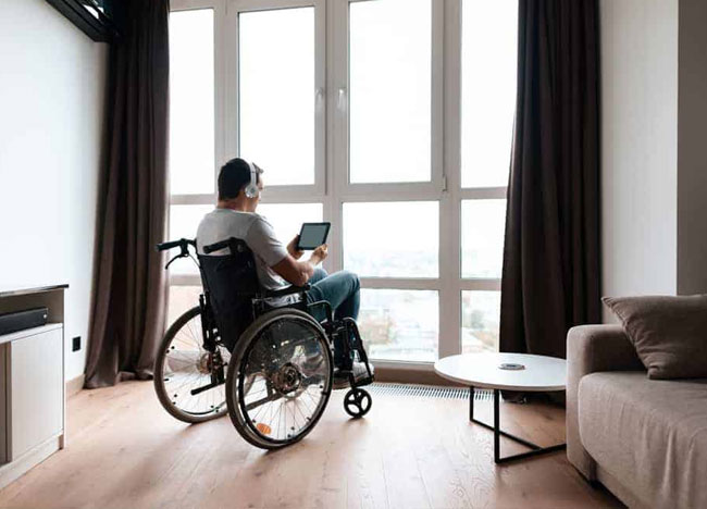 Apartments for disabled